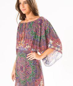 vestido decote lenco atlas