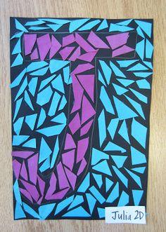 week 5 or 6? Paper Mosaics | Dali's Moustache