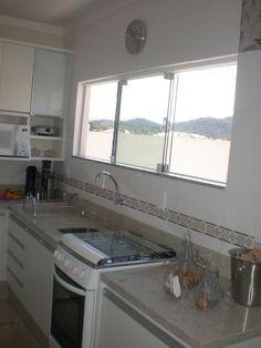 Bancada de Cozinha em Granito Amarelo Paraso  Cozinhas  Cozinha granito Cozinha pequena e Decorao cozinha