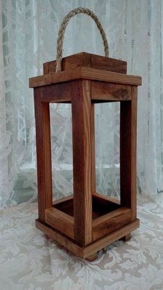 Lantern Rustic Wooden Lantern Rustic Wooden Lantern This Piece Is Hand Crafted From Gorgeous Reclaimed Heart Pine Rescued From 117 Year Old Boards This Lantern Makes A Warm Addition To Any Home 7 Tall Rustic Wooden Lantern