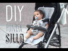 DIY Tutorial y patrones de funda para silla de bebe - YouTube