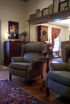 Living Room ...Spring 2015 pictures Linda Babb www.picturetrail.com/theprimitivestitcher