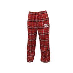 Men's Nebraska Cornhuskers Bleacher Lounge Pants, Size: Medium, Red