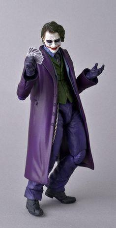 Dark Knight Joker Previews Exclusive MAFEX Figure #joker http://alteregocomics.com/