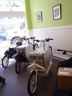 Cargo Bikes- I like the shop
