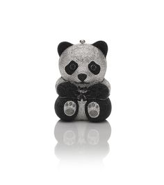 Panda Bear Crystal Clutch