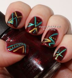 Marias Nail Art and Polish Blog #nail #nails #nailart