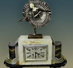 www.veniceclayartists.com wp-content uploads 2011 08 DECO-MARBLE-CHROME-1920S-FLAPPER-CAN-CAN-DANCER-FRENCH-CLOCK-ARMAND-LEMO-KEY.jpg