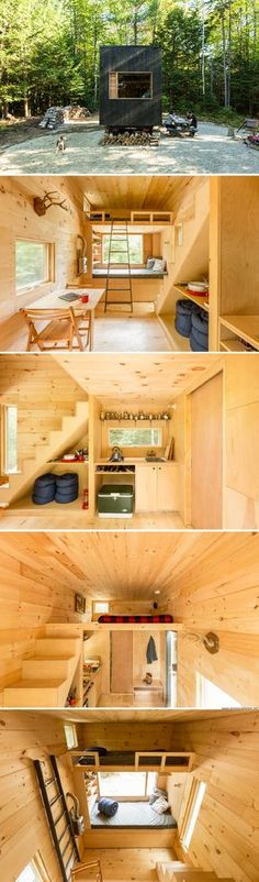 The Ovida tiny house (160 sq ft)
