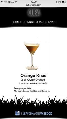 Orange knas