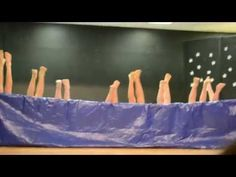 Don't know these kids, but this was really good.  5th grade boys Synchronized Air Swimming Talent Show Skit W A Porter Elementary