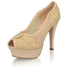 Women's Sexy Style Pretty Embroiders Peep Toe Platform Thin High Heels Sandals
