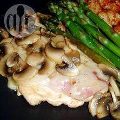 Prosciutto Chicken with Mushroom Sauce @ allrecipes.com.au