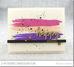 card scripty words and letters MFT brushstroke birthday greetings Birthday Greetings, Birthday Wishes, Birthday Cards, Diy Cards, Your Cards, Hippie Birthday, Birthday Card Design, Birthday Numbers, Mft Stamps