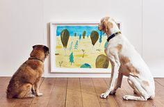 La prima mostra d'arte al mondo per cani