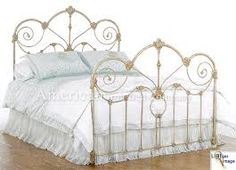 Image result for victorian cast iron bed frame