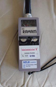 RAHAM Model 4C Isotropic EM Radiation Meter