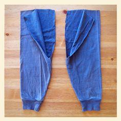 Sleeves into kids pants Kids Pants, Couture, Parachute Pants, Pajama Pants, Pajamas, Sewing, Sleeves, Baby, Handmade
