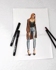 Ideas Fashion Design Sketches Clothing Black For 2019 Fashion Design Books, Fashion Wall Art, Fashion Design Drawings, Fashion Painting, Illustration Mode, Fashion Illustration Sketches, Fashion Sketches, Dress Design Drawing, Dress Drawing
