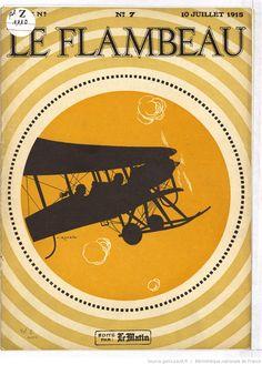 Le Flambeau : grand magazine de luxe hebdomadaire 10 July 1915