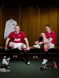 """Javier """"Chicharito"""" Hernandez #14 & Wayne Rooney #10 - Manchester United"""