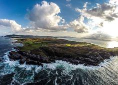 Malin Head, Inishowen, Donegal, Way atlantique sauvage, Irlande photo de Raymond Fogarty