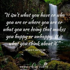 Your perception is everything! Gratitude can be so hard sometimes, but it's like drinking water - a cornerstone and foundation of happiness.