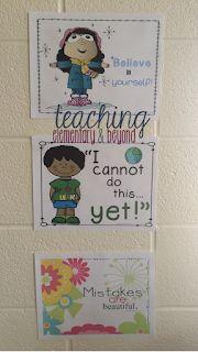 Beginning Our Growth Mindset Journey in Kindergarten - teaching elementary & beyond