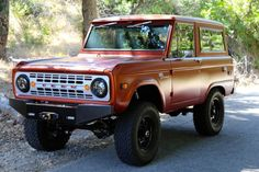 brendan-i-am: Icon BR Series Bronco Classic Ford Broncos, Classic Bronco, Classic Trucks, Jeep Truck, Ford Trucks, Pickup Trucks, Early Bronco, Red Beard, Cars Motorcycles