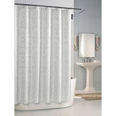 Versaille White Shower Curtain