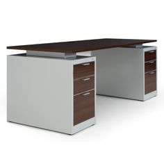 Desk that can potentially be done with Ikea furniture