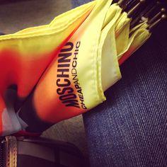 Photo by jazz1121  #moschino #mymoschino #umbrella #cheapandchic