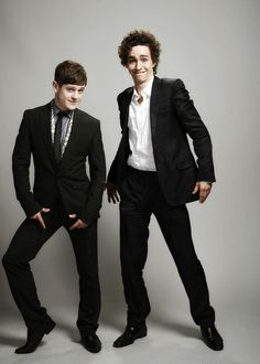 Iwan Rheon and Robert Sheehan. My two favorites from Misfits. Love them!