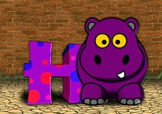 Letters, Abc, Education, Hippo, Alphabet, Literacy