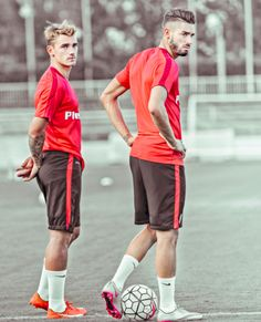 Griezmann y Carrasco