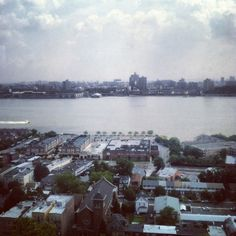 View of the Hudson from Cliffside Park.