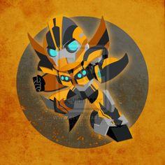 Bumblebee Real Transformers Prime Chibi