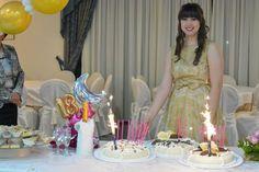 le torte che ho preparato per il compleanno di Margherita