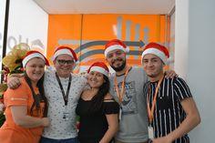 #HostDime se une en #Navidad 🎄👌  Nuestros compañeros del área de ventas...