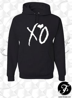 Hey, I found this really awesome Etsy listing at https://www.etsy.com/listing/200773451/xo-the-weeknd-hoodie-the-weeknd-clothing