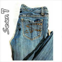 "SEVEN 7 JEANS MEMORIAL DAY SALE Seven 7 Jeans Inseam 33"" Waist 31"" Slight Flare Seven7 Jeans Flare & Wide Leg"