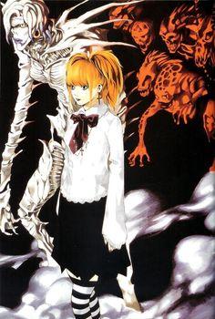 Death Note Anime, L Death Note, One Piece Fan Art, Amane Misa, Tsugumi Ohba, Nate River, Drawn Art, Manga Artist, Hippie Goth