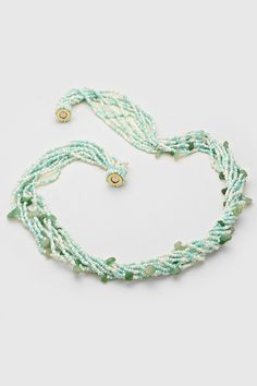 Josephine Necklace in Mint Jade | Women's Clothes, Casual Dresses, Fashion Earrings & Accessories | Emma Stine Limited