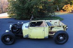 Ford : Model A HOT ROD 1929 MODEL A ROADSTER PICKU - http://www.legendaryfinds.com/ford-model-a-hot-rod-1929-model-a-roadster-picku-2/