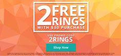 Have you seen the latest offer from #Jewelscent? Two #free rings with a $30 purchase!