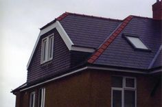 Side dormer - more interesting than most, cute little roof adds character