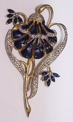 Coro A. Katz enamel trembler lotus flower brooch, similar to duette. This Coro enamel trembler lotus flower brooch matches the duettes. All item are sold ? Metal may need polishing or cleaning, watches may need to be cleaned. Rhinestone Jewelry, Vintage Rhinestone, Vintage Brooches, Eye Jewelry, Lotus Jewelry, Royal Jewelry, Craft Jewelry, Flower Jewelry, Jewelry Watches