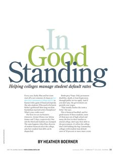 Community College Journal - June/July 2014 - Page 14-15