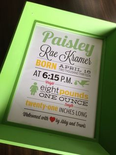 Adorable Bright baby print