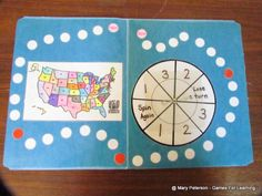 Games For Learning: State ID Spin